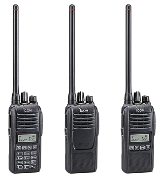 Icom IC-F1000-VHF/F2000-UHF Portables (Starting Price)