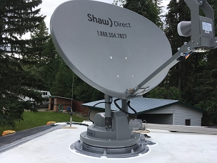 Winegard SK7003 Automatic Satellite System for ShawDirect